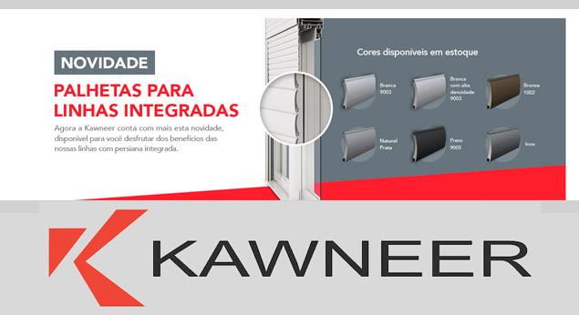 Kawneer Palhetas para Linhas Integradas