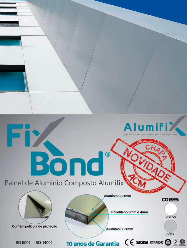 Painel de Alumínio Composto Alumifix