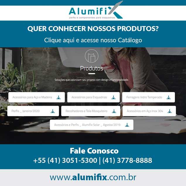 Quer conhecer mais sobre os produtos Alumifix